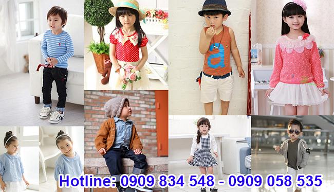 Nên lựa chọn lấy sỉ quần áo trẻ em Quảng Châu đa dạng, kiểu dáng phong phú