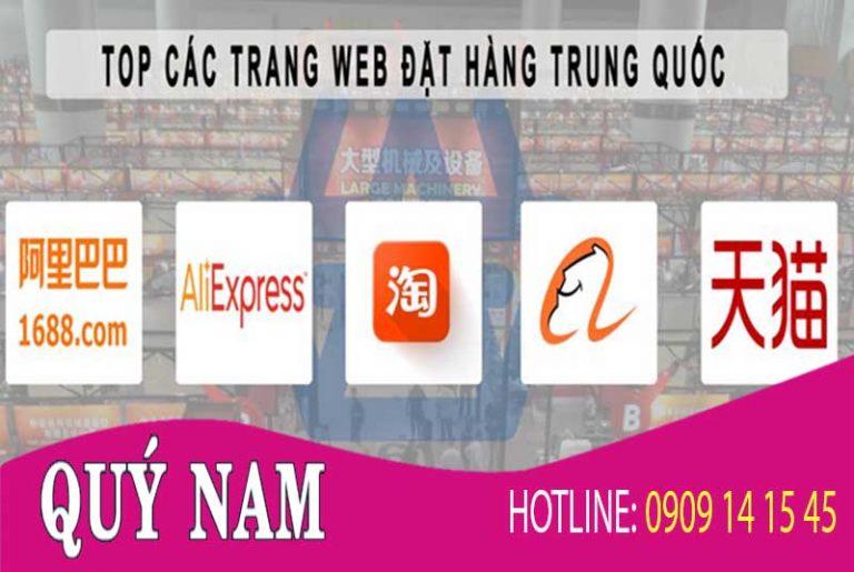 cac trang web order hang trung quoc