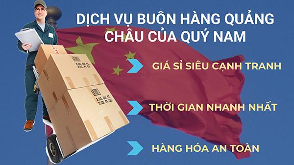 Dịch vụ buôn hàng Quảng Châu