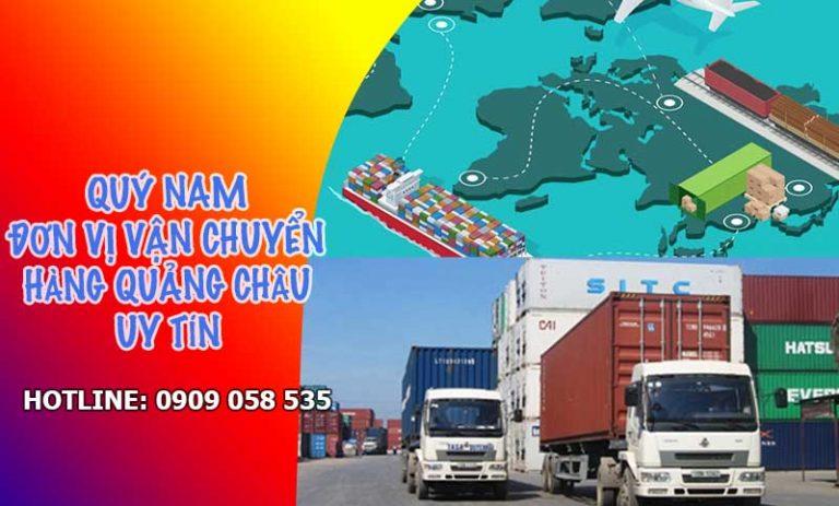 Dịch vụ ship hàng Quảng Châu