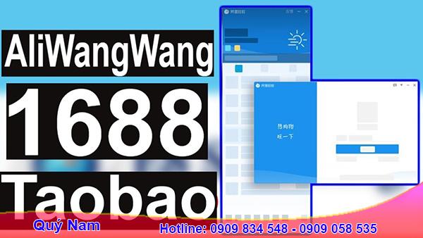Tải app Aliwangwang để mặc cả giá với chủ gian hàng