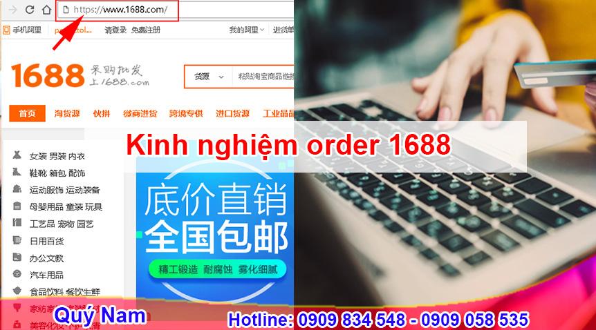 Chia sẻ kinh nghiệm order 1688 giúp bạn thành chuyên gia