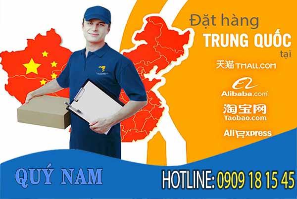 Bạn có thể ngồi nhà và nhờ Quý Nam order hàng hộ và ship về Việt Nam