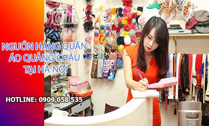 Mẹo tìm shop bán buôn quần áo Quảng Châu tại Hà Nội