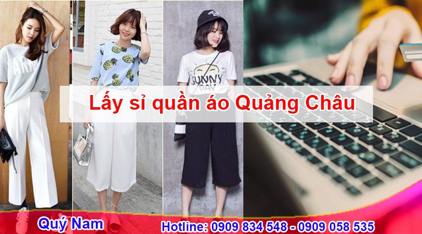 Sử dụng dịch vụ mua hộ hàng quần áo Quảng Châu của Quý Nam