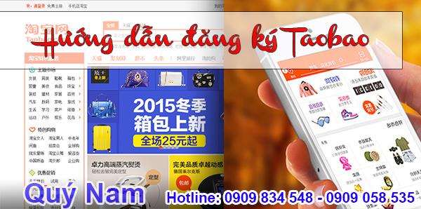 Cách đăng ký tài khoản Taobao