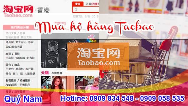 Bạn có thể tham khảo dịch vụ mua hộ và vận chuyển hàng trên Taobao của Quý Nam để hạn chế rủi ro