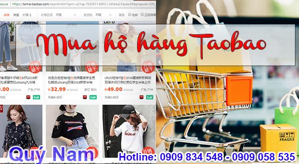 Quý Nam nhận mua hộ hàng Taobao an toàn