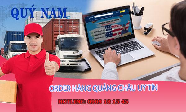 Order hàng Quảng Châu