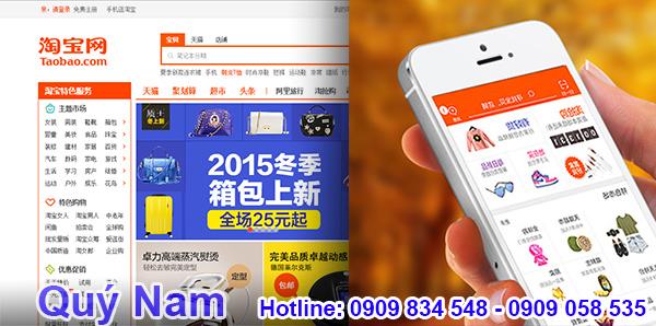 Taobao có đầy đủ các mặt hàng tiêu dùng cho bạn