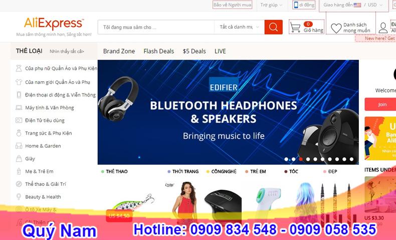 Aliexpress.com nhắm đến người dùng trên toàn thế giới