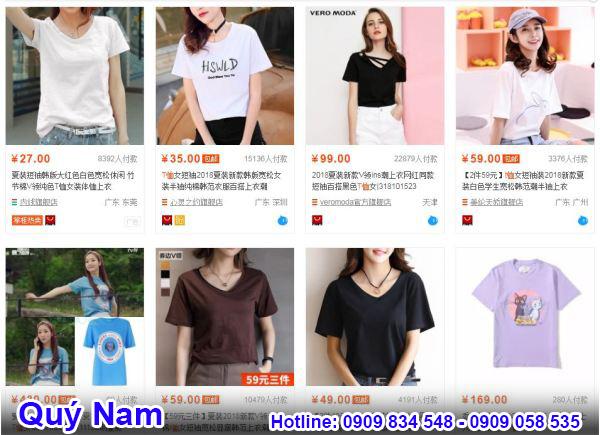 Bạn có thể mua áo thun trên các trang web online