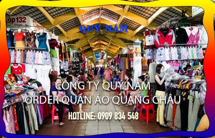 Nhập quần áo Quảng Châu ta6i5 Việt Nam
