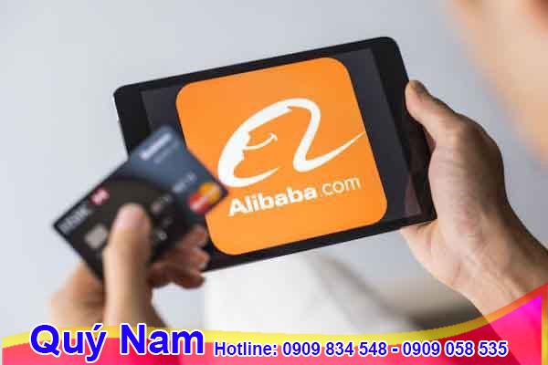 Thanh toán đơn hàng trên Alibaba