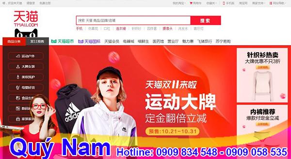 Tìm hàng qua Taobao, Tmall được rất nhiều nhà buôn sỉ lựa chọn